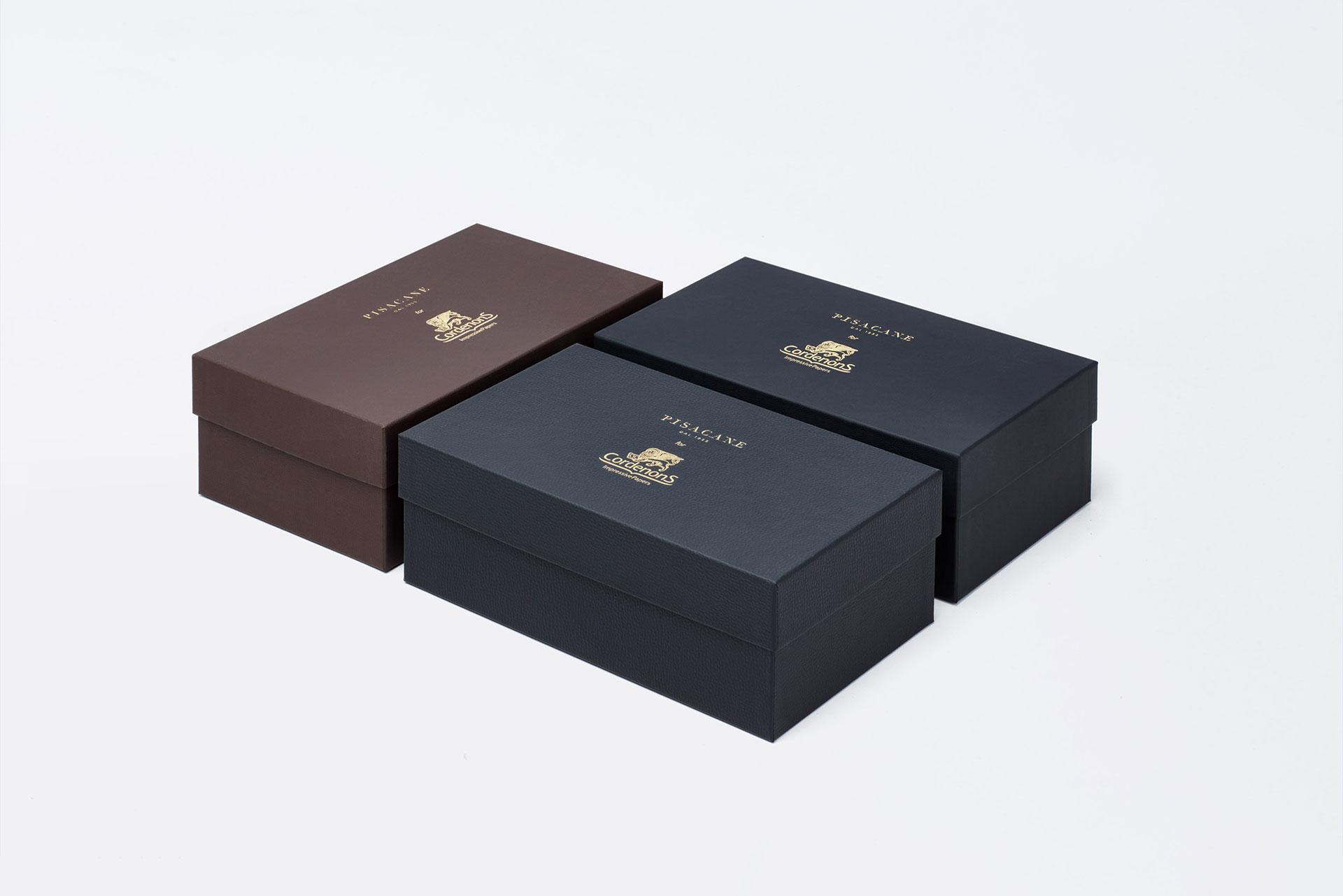 scatola fondo coperchio per scarpe