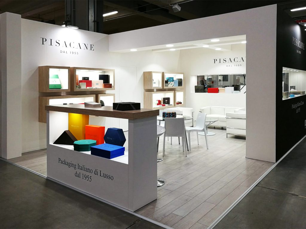 stand scatoloficio Pisacane Packaging Premiere