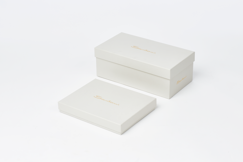 scatola per calzature d'alta moda