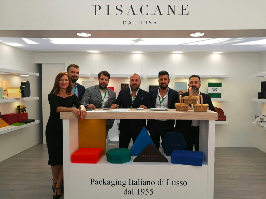 il team Pisacane al Luxe Pack 2018