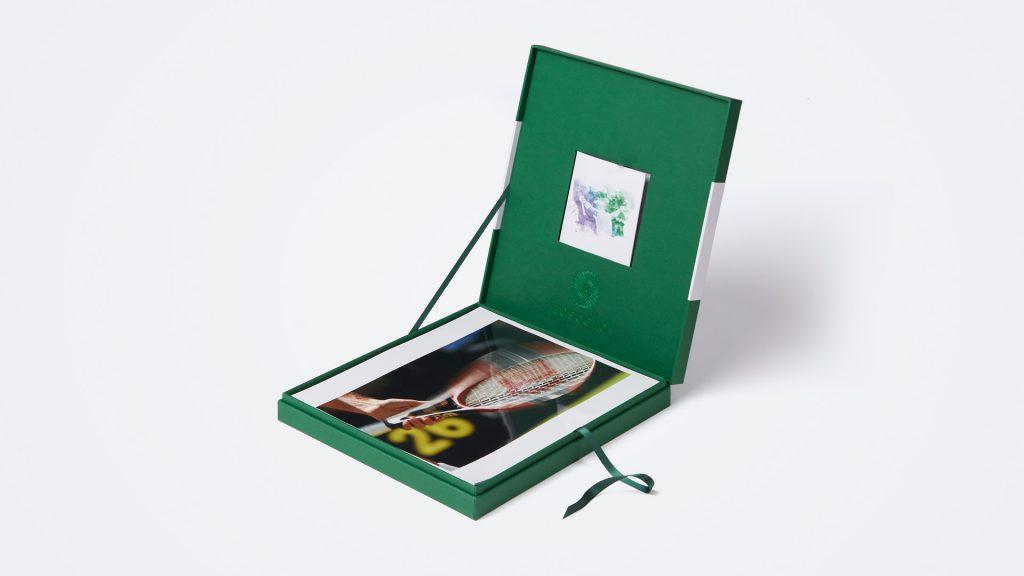 scatola a cofanetto con scomparti per editoria e voucher regalo Boscolo