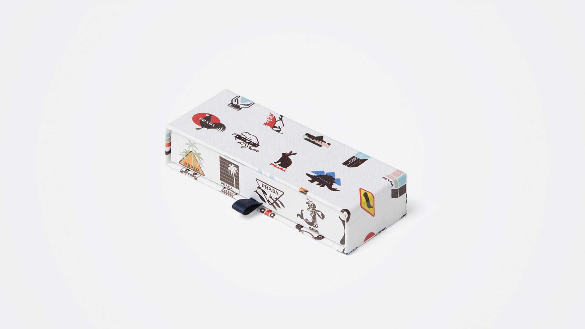 scatola per gioielli a cofanetto Prada
