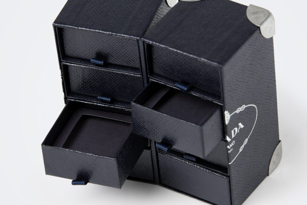 box with drawers for jewelry Prada
