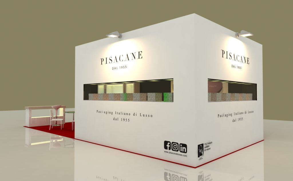 stand di Pisacane al Packaging Premiére di Milano 2019
