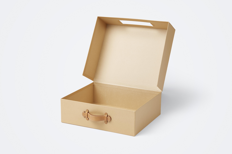 scatola valigia Prada