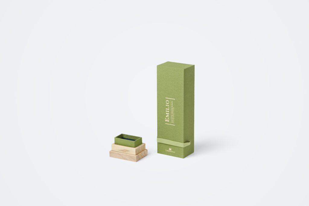 scatola con coperchio personalizzata per bottiglie Gabrielloni