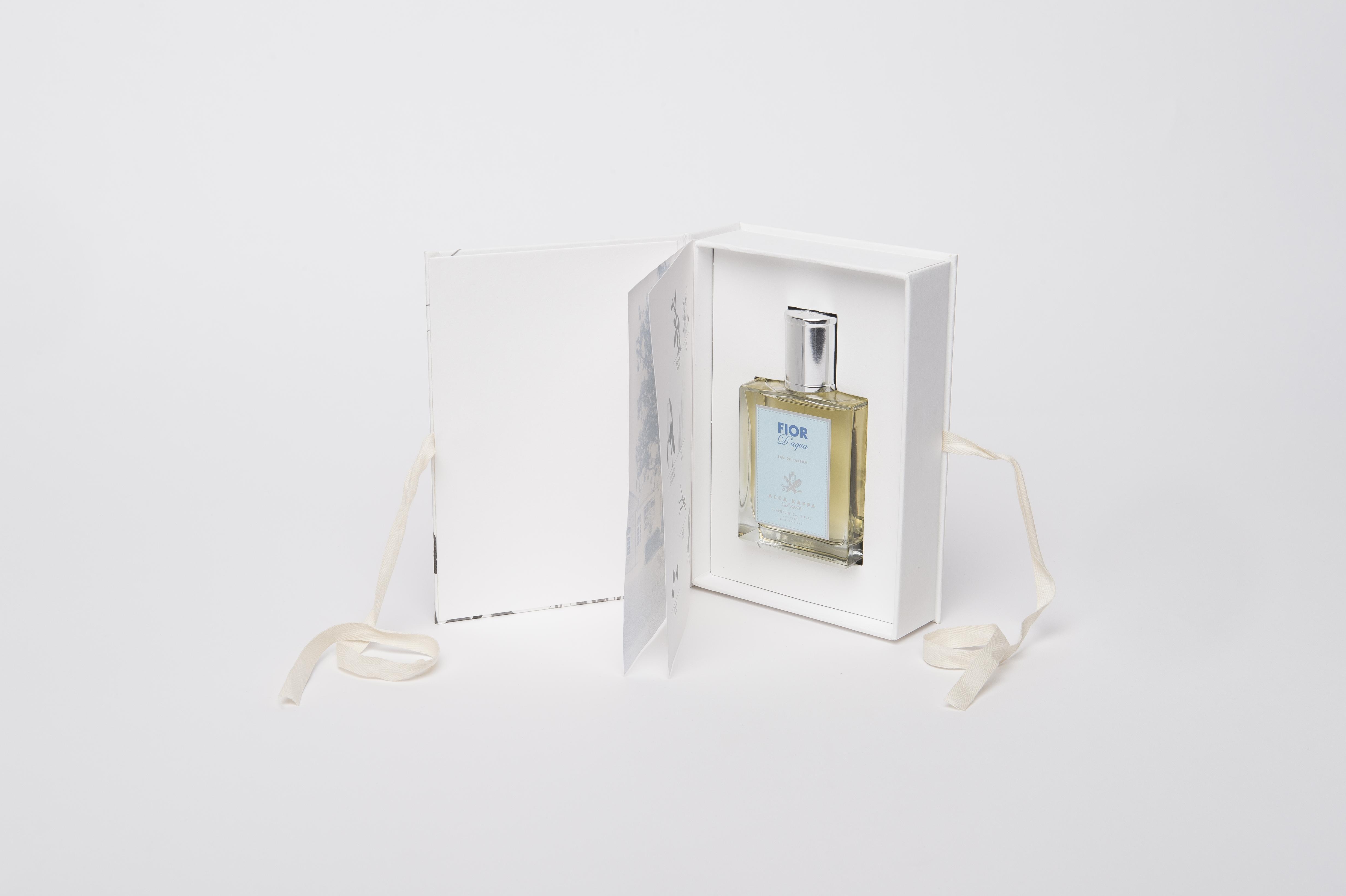scatola con nastro per profumi Accakappa