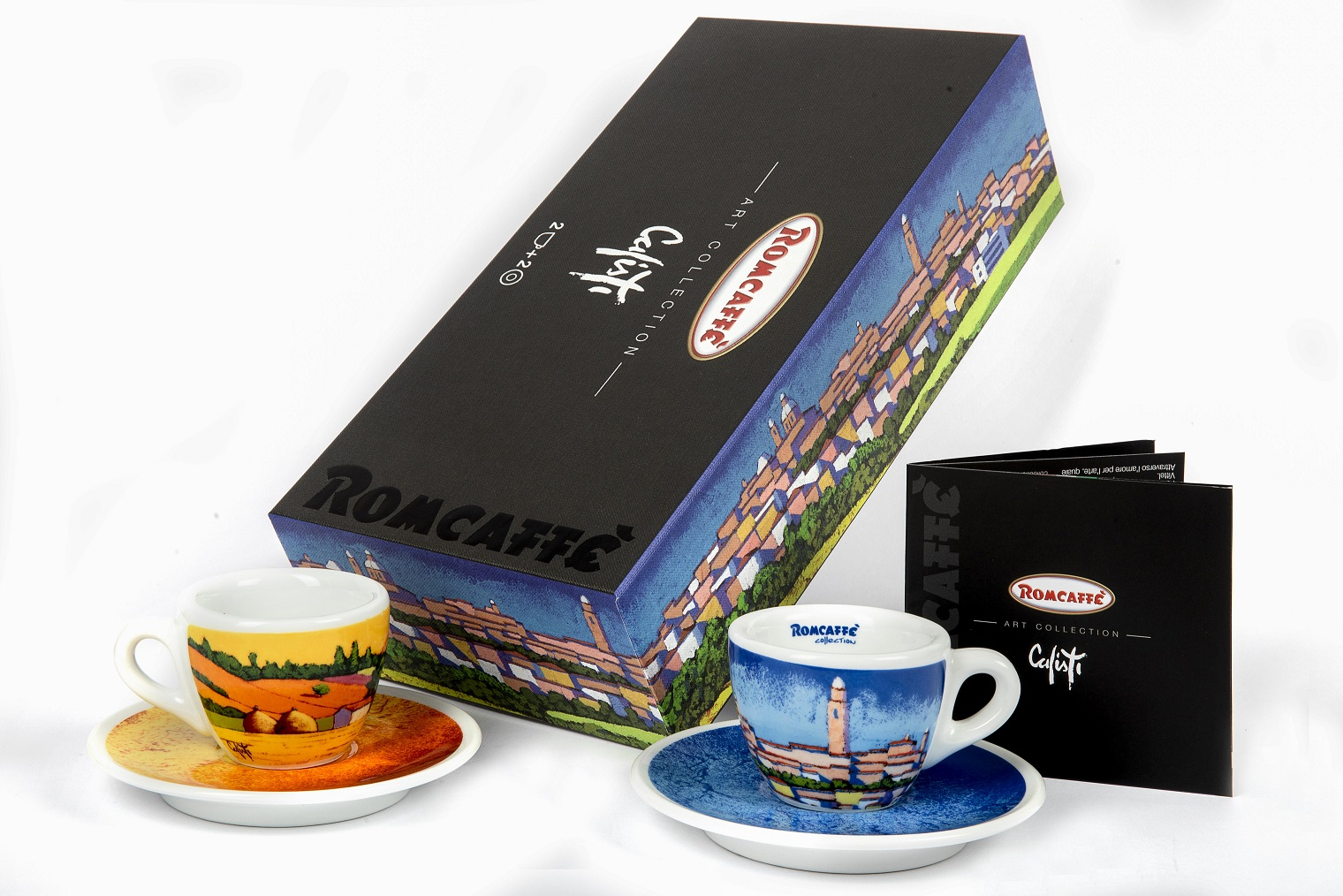 Box for artistic coffee cups